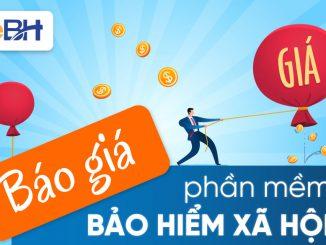 Cập nhật báo giá phần mềm BHXH eBH năm 2021