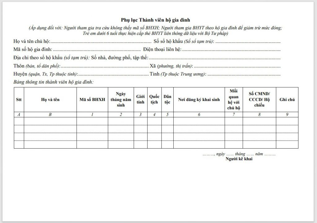 Hướng dẫn điền mẫu TK1-TS ban hành theo Quyết định 505 - ảnh 2